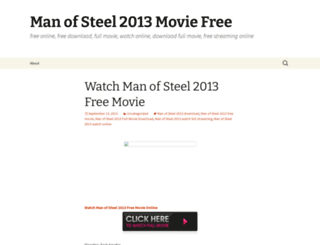 manofsteel2014moviefree.wordpress.com screenshot