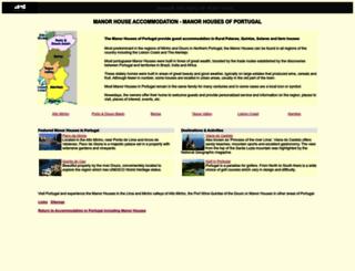 manor-houses-portugal.com screenshot