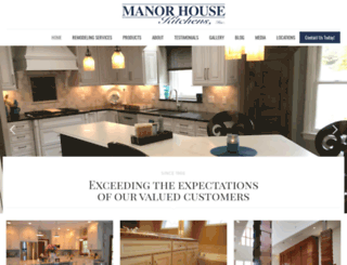 manorhousekitchens.com screenshot