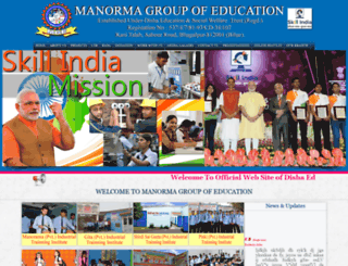 manormagroup.com screenshot