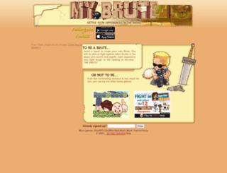 manoto1.mybrute.com screenshot
