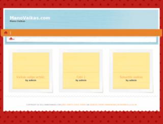 manovaikas.com screenshot