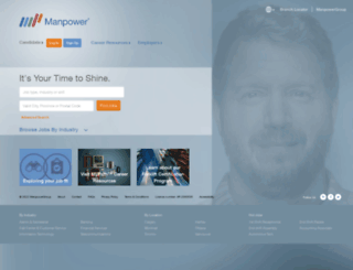 manpower.ca screenshot