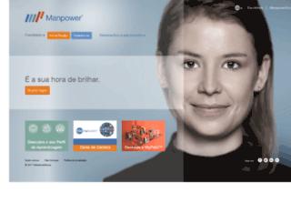 manpower.com.br screenshot