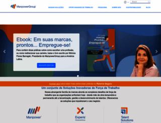 manpowergroup.com.br screenshot