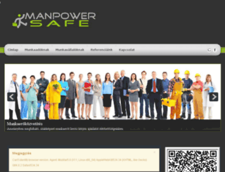manpowersafe.hu screenshot