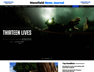 mansfieldnewsjournal.com screenshot