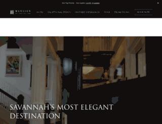 mansiononforsythpark.com screenshot