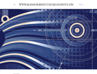 mansorbinputeh.blogspot.com screenshot