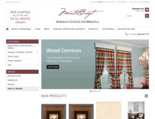 mantelcraft.com screenshot