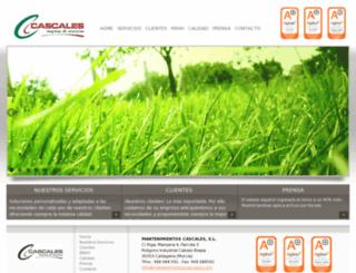 mantenimientoscascales.com screenshot