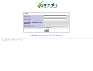 mantis.hometrend.de screenshot