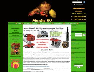 mantis.ru screenshot