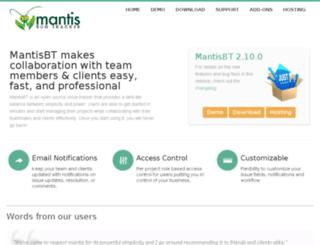 mantisbt.domainunion.de screenshot