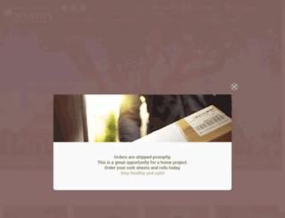 mantoncork.com screenshot
