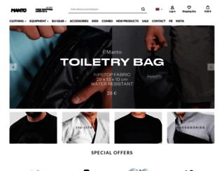 mantoshop.eu screenshot