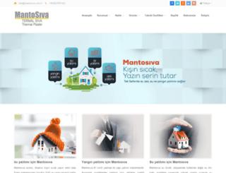mantosiva.com.tr screenshot