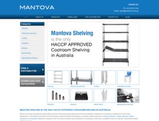 mantova.com.au screenshot