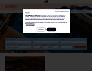 mantra.com.au screenshot