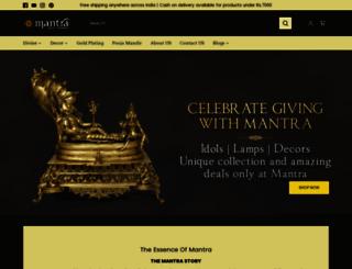 mantragoldcoatings.com screenshot