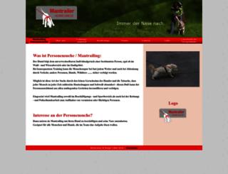 mantrailer-hermeswiese.at screenshot