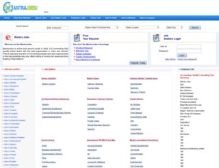 mantrajobs.com screenshot