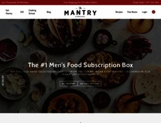 mantry.com screenshot