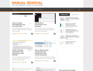 manual-removal.com screenshot