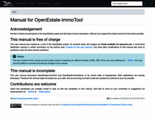 manual.openestate.org screenshot