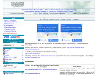 manuales.astalaweb.com screenshot