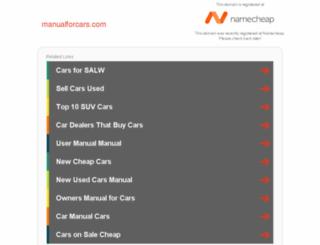 manualforcars.com screenshot