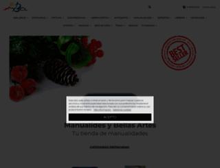 manualidadesybellasartes.es screenshot