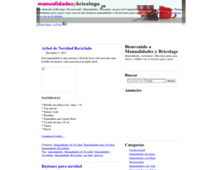 manualidadesybricolage.com screenshot
