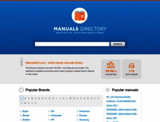manualsdir.com screenshot