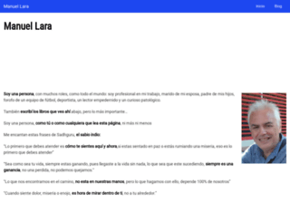 manuel-lara.com screenshot