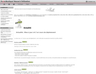 manuel.powerboutique.com screenshot