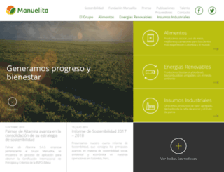 manuelita.com screenshot