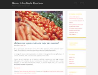 manueljuliandavilaabondano.wordpress.com screenshot