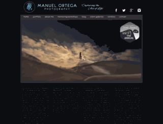 manuelortegaphoto.com screenshot