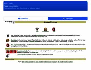 manuelsweb.com screenshot