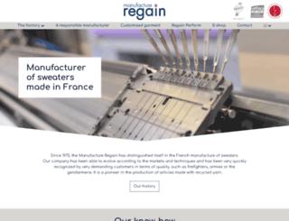 manufacture-regain.fr screenshot