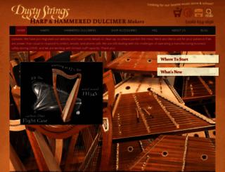 manufacturing.dustystrings.com screenshot