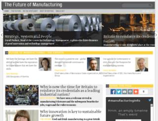 manufacturinginfo.co.uk screenshot