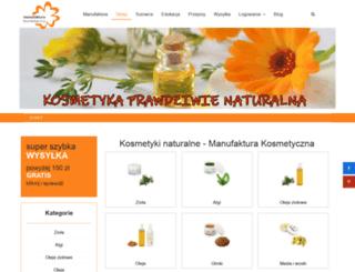manufakturakosmetyczna.pl screenshot