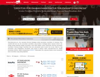 manufakturindo.com screenshot