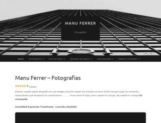 manuferrer.com screenshot