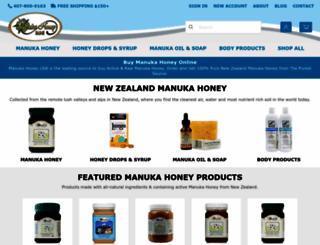 manukahoneyusa.com screenshot