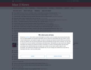 manunews.com screenshot