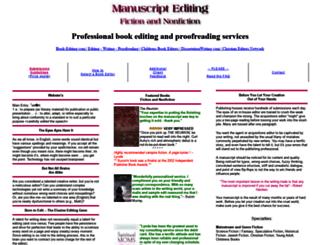 manuscriptediting.com screenshot