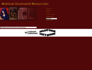 manuscripts.kb.nl screenshot